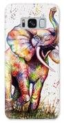 Colorful Watercolor Elephant Galaxy S8 Case