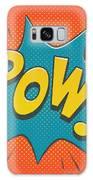 Comic Pow Galaxy Case