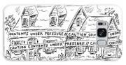 Contents Under Pressure Galaxy S8 Case