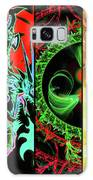 Cosmic Collage Mosaic Right Side Flipped Galaxy Case by Shawn Dall