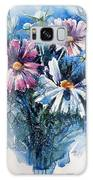 Cosmos Flowers Galaxy S8 Case