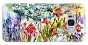 Cottage Garden Angel And Irises Galaxy S8 Case