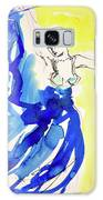 Dancer In Blue Galaxy S8 Case