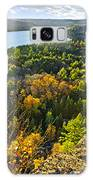 Fall Forest And Lake Top View Galaxy S8 Case