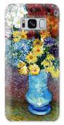 Flowers In A Blue Vase  Galaxy S8 Case