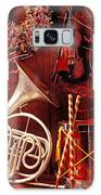 French Horn Christmas Still Life Galaxy S8 Case