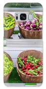 Fruits And Vegetables On A Supermarket Shelf Galaxy S8 Case