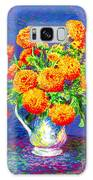 Gift Of Gold, Orange Flowers Galaxy S8 Case