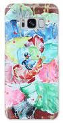 Graffiti Rose Galaxy Case by Aliya Michelle