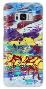 Green Pastures And Purple Mountains Galaxy S8 Case