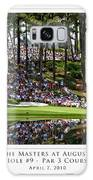 Green Reflections Par 3 Hole 9 Galaxy S8 Case