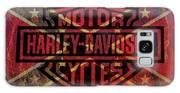 Harley Davidson Logo Confederate Flag Galaxy S8 Case