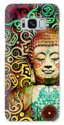 Heart Of Transcendence - Colorful Tribal Buddha Galaxy Case by Christopher Beikmann