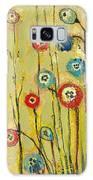 Hidden Poppies Galaxy Case by Jennifer Lommers