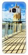 Historic Bridge In Cincinnati Galaxy Case by Mel Steinhauer