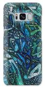 Illuminated Blue Galaxy S8 Case