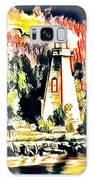 Lighthouse Galaxy Case by Lita Kelley