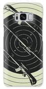 Line Art Rifle Range Galaxy S8 Case