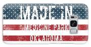 Made In Medicine Park, Oklahoma Galaxy S8 Case