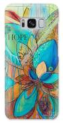 Spirit Lotus With Hope Galaxy Case by TM Gand