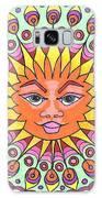 Peacock Sunburst Galaxy S8 Case