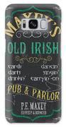Maxey's Old Irish Pub Galaxy S8 Case