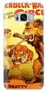 Modern Vintage Circus Poster Galaxy S8 Case