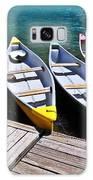moraine lake in banff national park, alberta, Canada Galaxy S8 Case