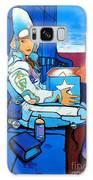 Mural Art, Futuristic  Galaxy S8 Case