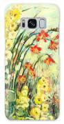 My Secret Garden Galaxy Case by Jennifer Lommers