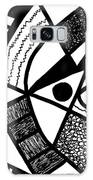 Black And White 20/night And Day 1 Galaxy S8 Case