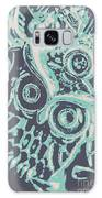 Nocturnal The Blue Owl Galaxy S8 Case
