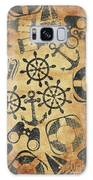 Old Nautical Parchment Galaxy S8 Case