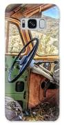 Old Truck Interior Nevada Desert Galaxy Case by Edward Fielding
