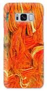 Orange Art Galaxy Case by Colette V Hera Guggenheim