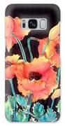 Orange Poppies Galaxy S8 Case