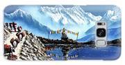 Panoramic View Of Annapurna Mountain Nepal Galaxy S8 Case