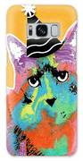 Party Cat- Art By Linda Woods Galaxy S8 Case