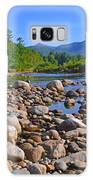 Pemigewasset River, North Woodstock Nh Galaxy Case by Ken Stampfer