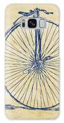 Penny-farthing 1867 High Wheeler Bicycle Vintage Galaxy Case