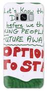 People's Vote Option To Stay Young People Need A Future Galaxy S8 Case