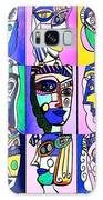 Picasso Blue Women Galaxy S8 Case