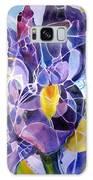 Purple Irises Galaxy S8 Case