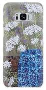 Queen Anne's Lace In Blue Vase Galaxy S8 Case