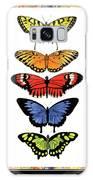 Rainbow Butterflies Galaxy S8 Case