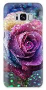Rainbow Rose In The Rain Galaxy S8 Case