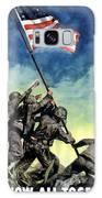 Raising The Flag On Iwo Jima Galaxy S8 Case