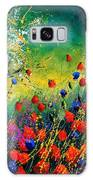Red And Blue Poppies  Galaxy S8 Case