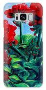 Red Geraniums Galaxy S8 Case