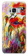 Red Poppies And Bees Provence Dreams Galaxy S8 Case